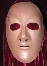 neutral female theater  training mask