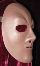 neoprene neutral female theatre mask for sale