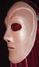 neutral male mask for theatrical training neoprene  for sale