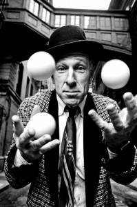Will Shaw juggling